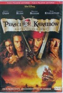 Gore Verbinski • Piraci z Karaibów: Klątwa czarnej perły • DVD