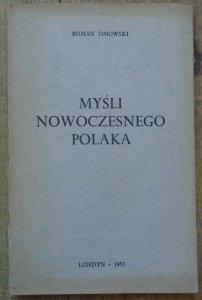 Roman Dmowski • Myśli nowoczesnego Polaka [1953]