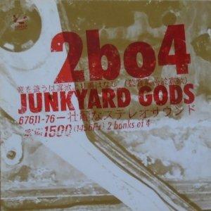 Two Banks Of Four • Junkyard Gods • CD