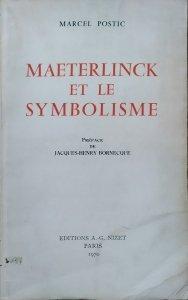 Marcel Postic • Maeterlinck et le Symbolisme