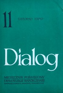 Dialog 11/1980 • [Joe Alex, Albert Camus, Teatr No]