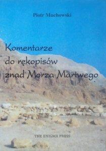 Piotr Muchowski • Komentarze do rękopisów znad Morza Martwego