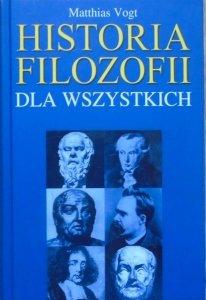 Matthias Vogt • Historia filozofii dla wszystkich