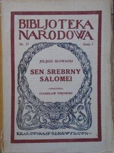 Juliusz Słowacki • Sen srebrny Salomei [1923]
