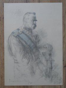 grafika z teki Józef Piłsudski w 13 planszach [Zdzisław Czermański]