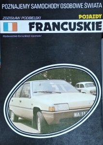 Zdzisław Podbielski • Pojazdy francuskie