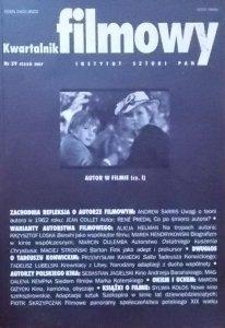 Kwartalnik filmowy 59 2007 • Autor w filmie (cz. I)