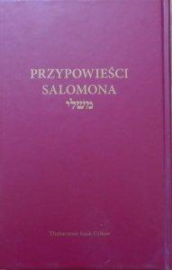 Izaak Cylkow • Przypowieści Salomona