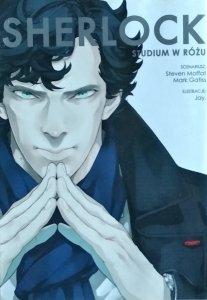 Steven Moffat • Sherlock. Studium w różu