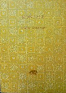 Eugenio Montale • Poezje wybrane [Biblioteka Poetów]