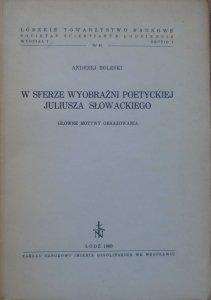 Andrzej Boleski • W sferze wyobraźni poetyckiej Juliusza Słowackiego. Główne motywy obrazowania