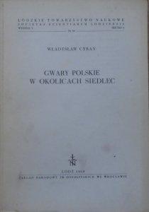 Władysław Cyran • Gwary polskie w okolicach Siedlec [dedykacja autorska]