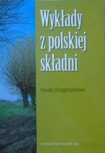 Renata Grzegorczykowa • Wykłady z polskiej składni