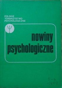 Nowiny psychologiczne 5-6/1989 [praca ze snem, DDA, Wygotski]