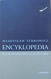 Władysław Semkowicz • Encyklopedia nauk pomocniczych historii