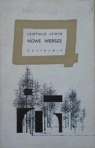 Leopold Lewin • Nowe wiersze
