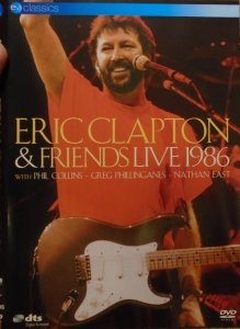 Eric Clapton and Friends • Live 1986 • DVD