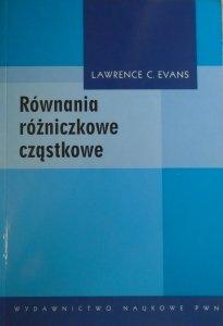 Lawrence C. Evans • Równania różniczkowe cząstkowe