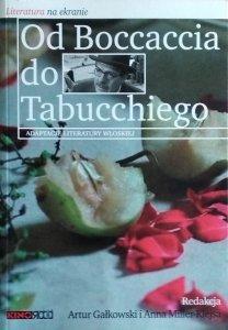 Artur Gałkowski • Od Boccaccia do Tabucchiego. Adaptacje literatury włoskiej