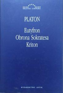 Platon • Eutyfron. Obrona Sokratesa. Kriton