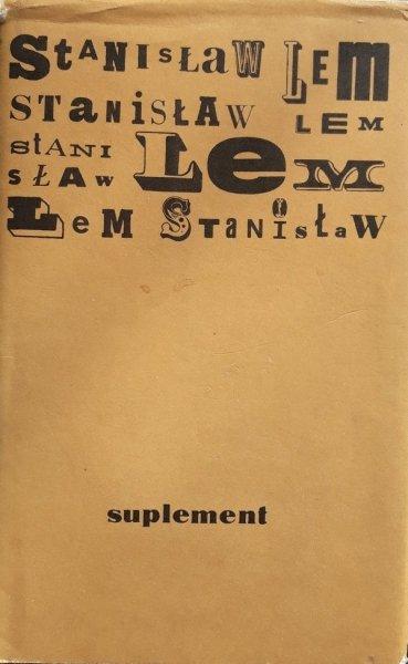 Stanisław Lem • Suplement