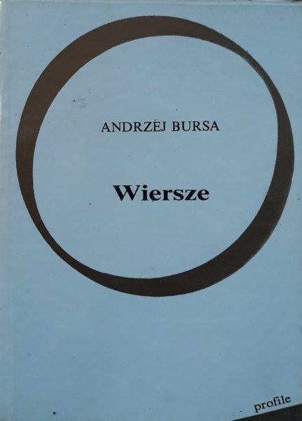 Andrzej Bursa • Wiersze