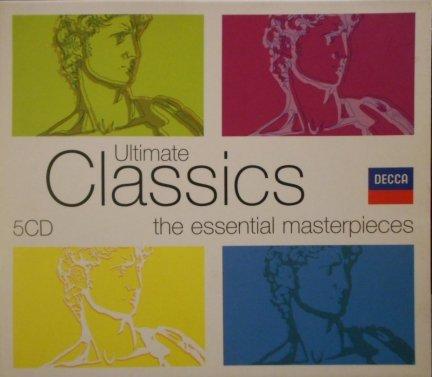Różny Wykonawcy Ultimate Classics 5cd Muzyka Klasyczna