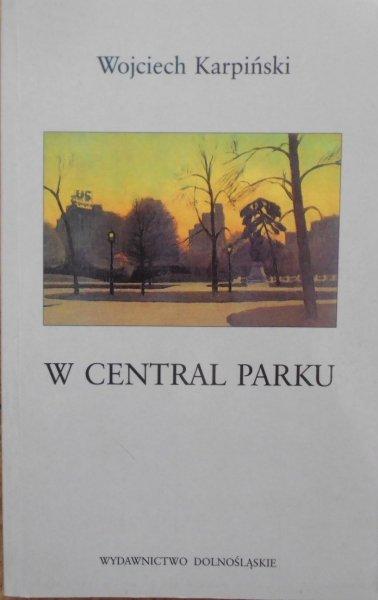 Wojciech Karpiński • W central parku