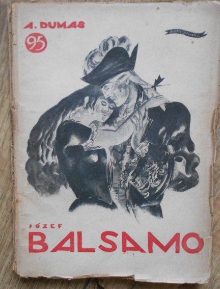 A. Dumas • Józef Balsamo XI. Oprawa Berezowska