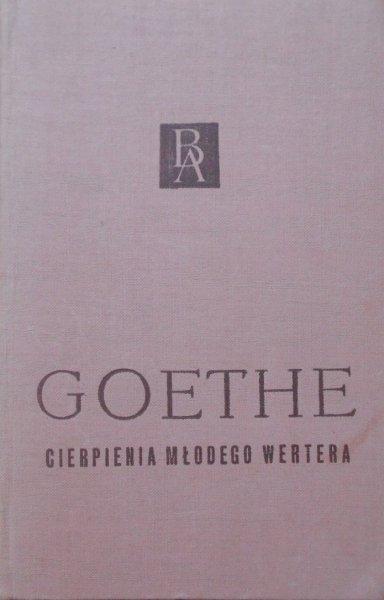 Goethe • Cierpienia młodego Wertera [Biblioteka Arcydzieł]