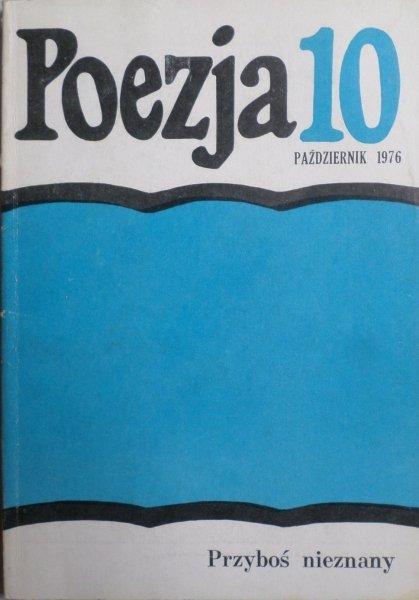 Poezja 10/1976 • Przyboś nieznany