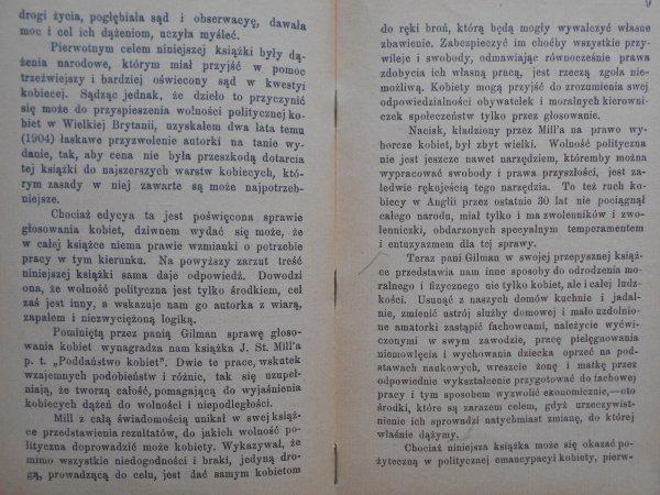 Charlotte Perkins Gilman • Kobieta a stan ekonomiczny - feminizm