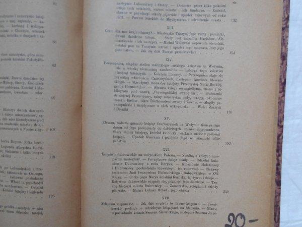 Tadeusz Jerzy Stecki • Z boru i stepu. Obrazy i pamiątki