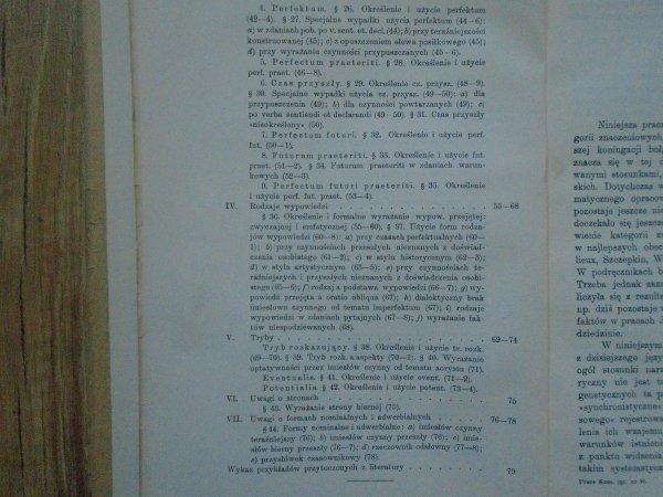 Lubomir Andrejczin • Kategorie znaczeniowe koniugacji bułgarskiej [1938]