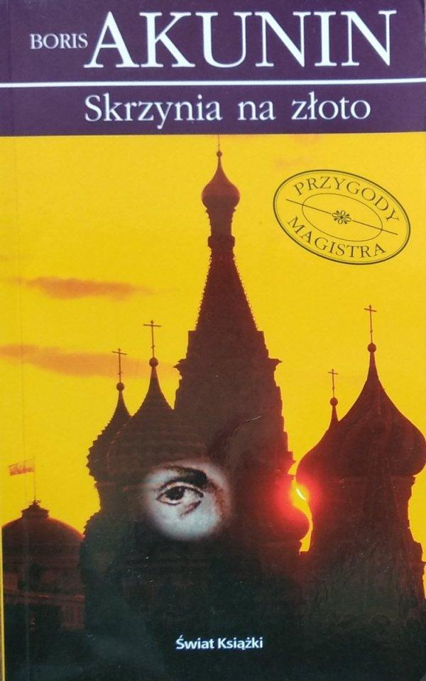 Boris Akunin • Skrzynia na złoto