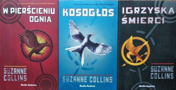Suzanne Collins • Igrzyska śmierci [komplet]