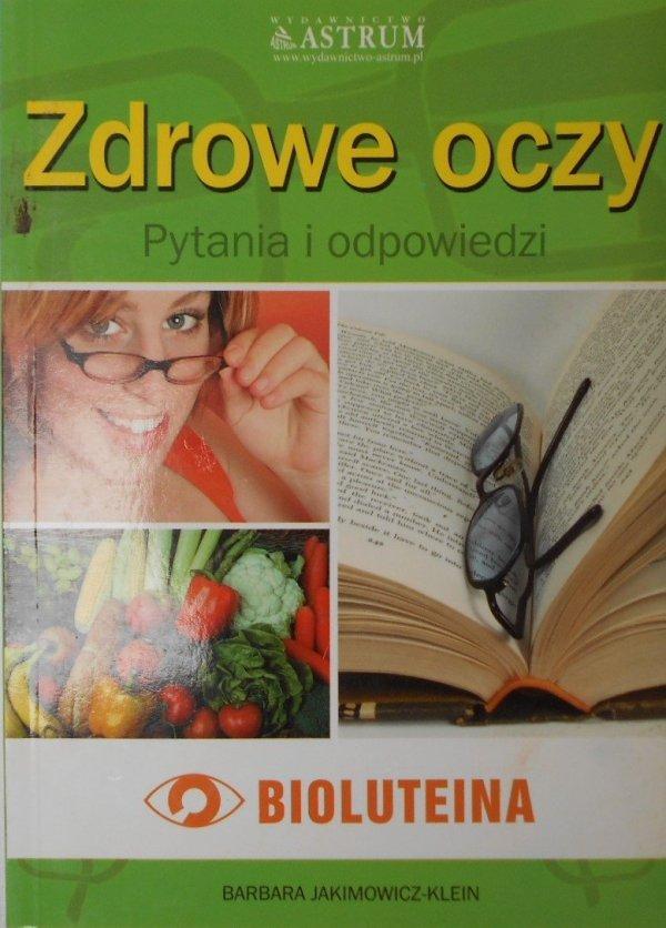 Barbara Jakimowicz Klein • Zdrowe oczy