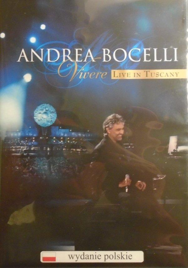 Andrea Bocelli • Vivere. Live In Tuscany • DVD