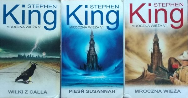 Stephen King • Mroczna wieża [komplet]