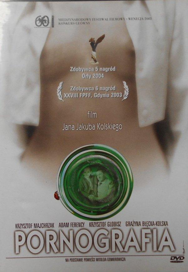 Jan Jakub Kolski • Pornografia • DVD
