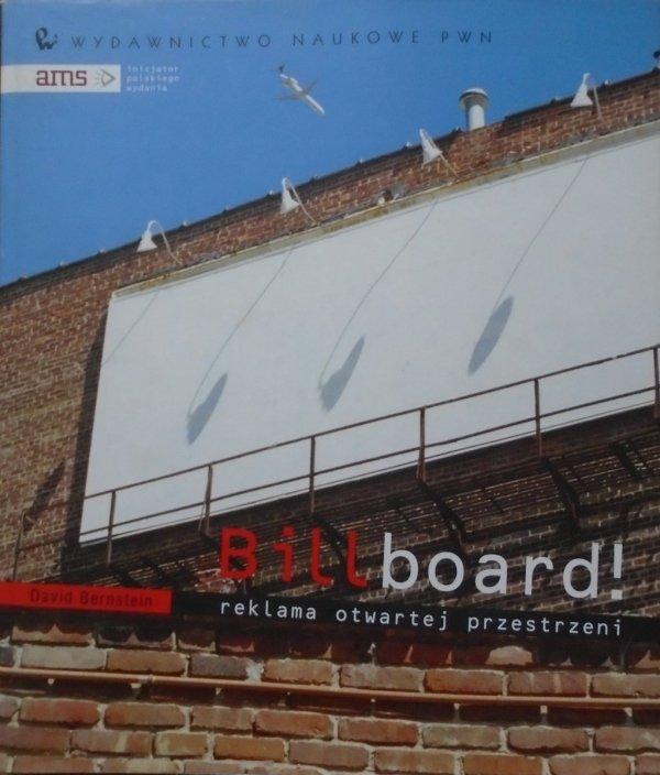 David Bernstein • Billboard! Reklama otwartej przestrzeni