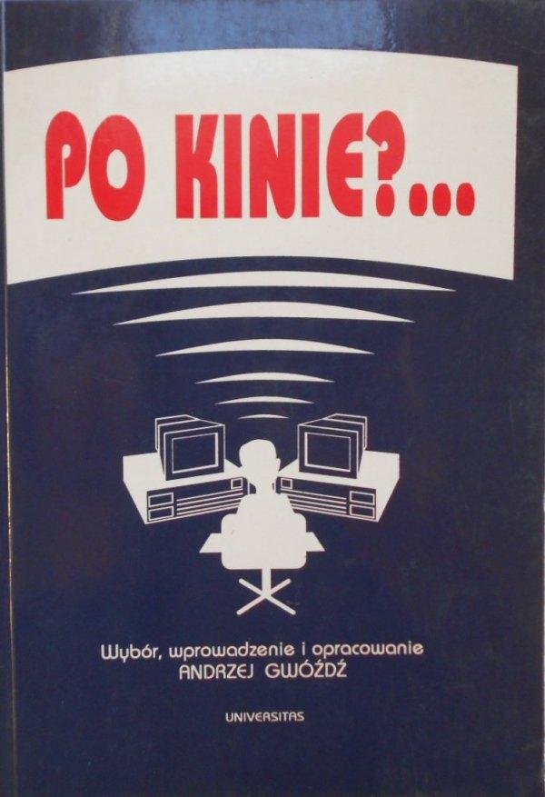 Andrzej Gwóźdź • Po kinie? Audiowizualność w epoce przekaźników elektronicznych