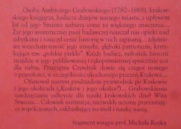Ambroży Grabowski • Topografia dawnego Krakowa