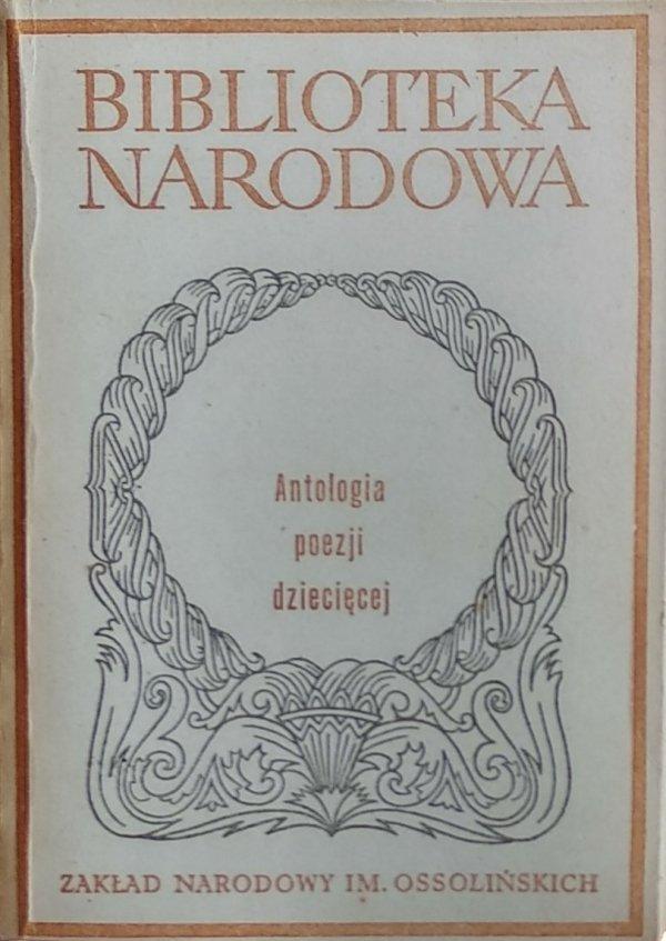 Antologia poezji dziecięcej