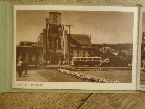 Pamiątka z Gdyni [zestaw 7 pocztówek]