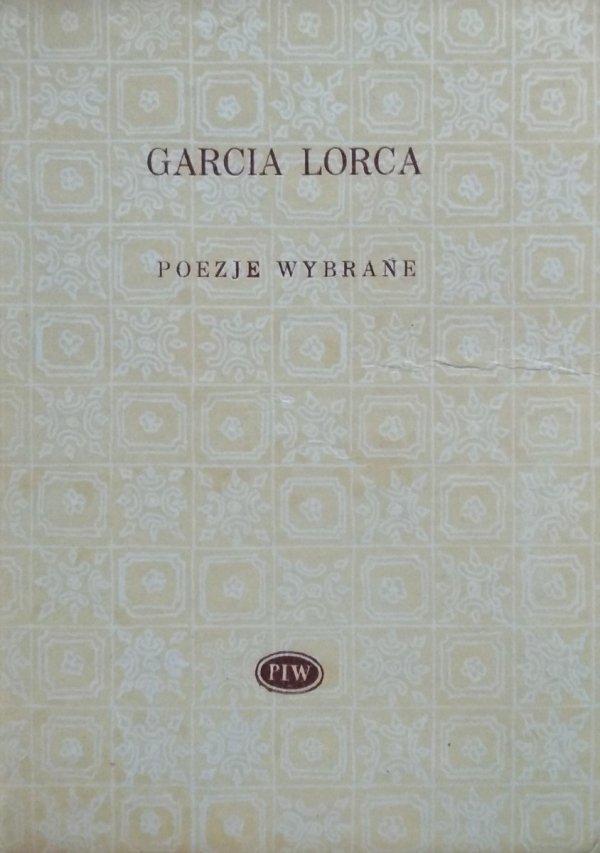 Federico Garcia Lorca • Poezje wybrane Biblioteka Poetów