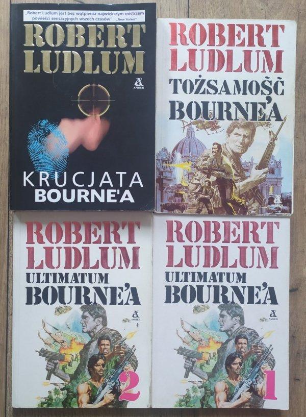 Robert Ludlum Tożsamość, Krucjata i Ultimatum Bourne'a [komplet]