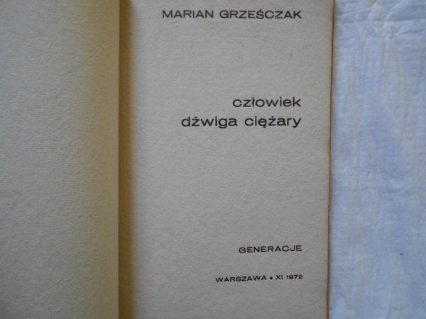 Marian Grześczak • Generacje seria II [dedykacja autora]