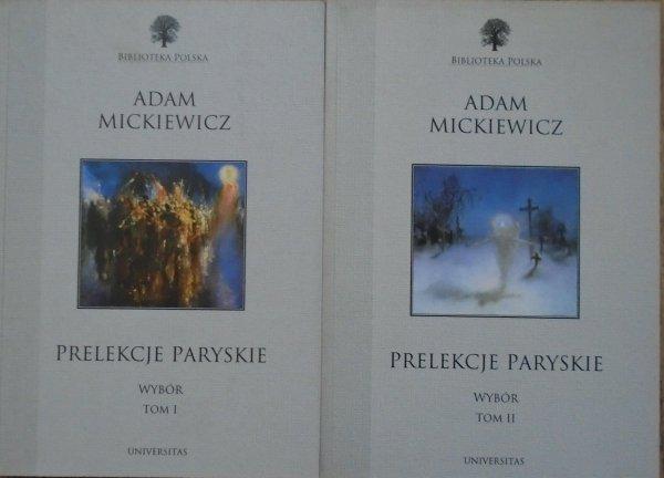 Adam Mickiewicz • Prelekcje paryskie [komplet]