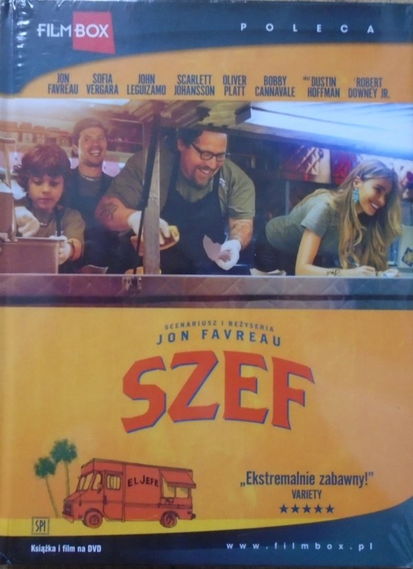 Jon Favreau • Szef • DVD